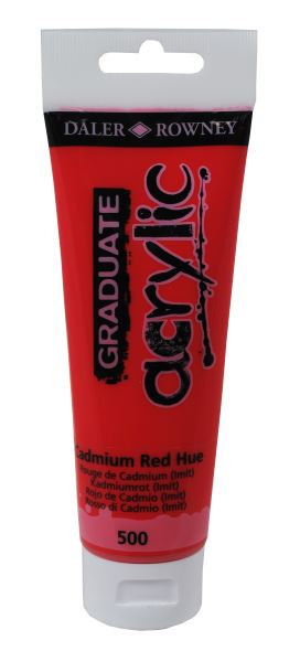 D&R Graduate Cadmium Red Hue 120 ml