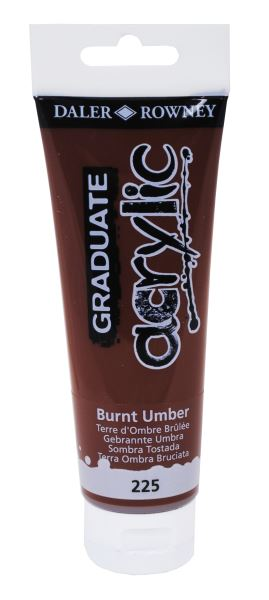 D&R Graduate Burnt Umber 120 ml
