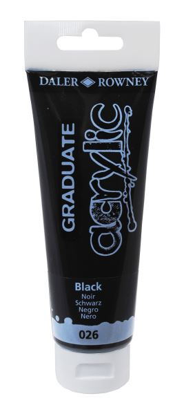 D&R Graduate Black 120 ml