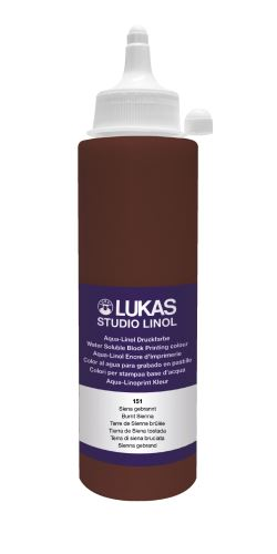 LUKAS STUDIO LINOL 250ml., burnt sienna