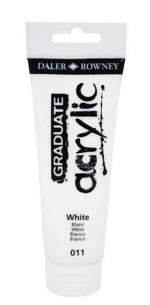 D&R Graduate White 120 ml